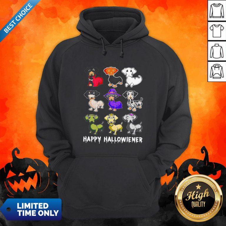 Official Dachshund Happy Halloween Hoodie