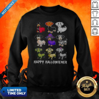 Official Dachshund Happy Halloween Sweatshirt