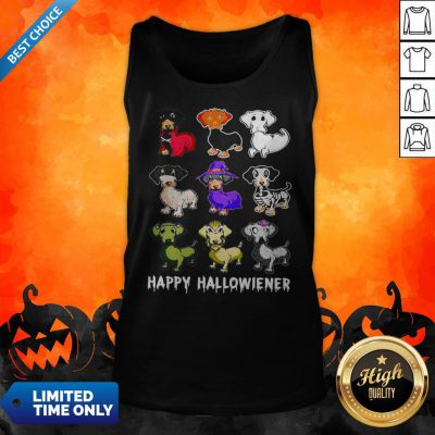Official Dachshund Happy Halloween Tank Top