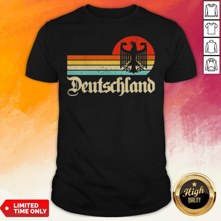 Official Germany Deutschland Cheer Jersey Shirt