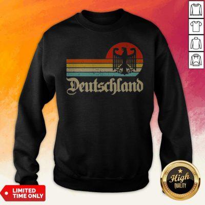 Official Germany Deutschland Cheer Jersey Sweatshirt