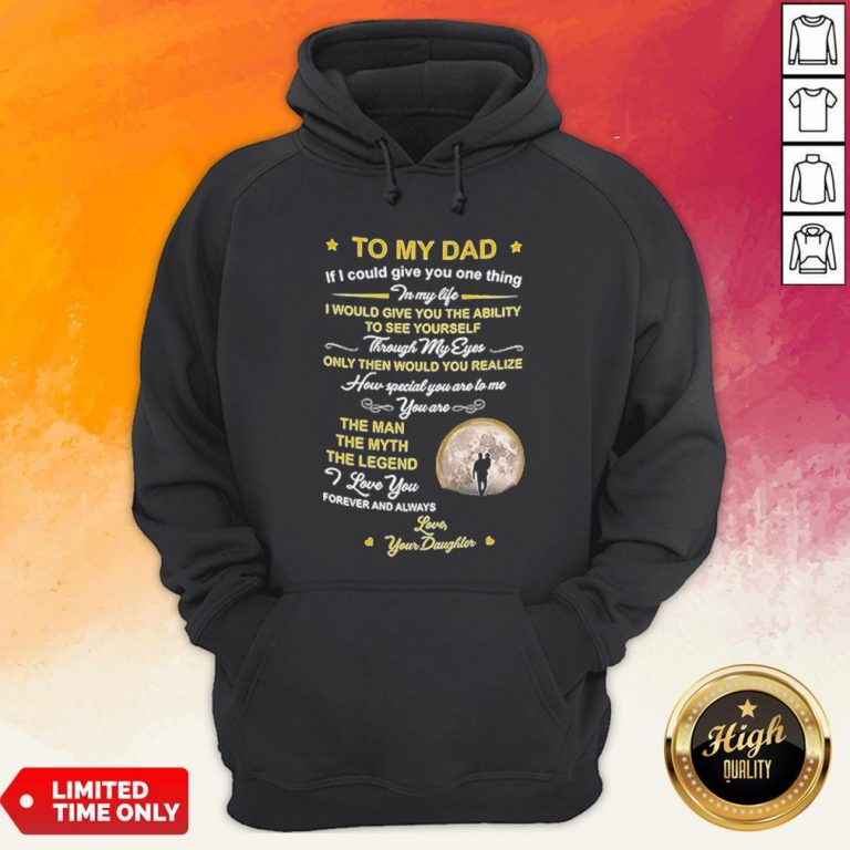 Official To My Dad Coffee Mugn Hoodie