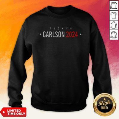 Official Tucker Carlson 2024 Sweatshirt