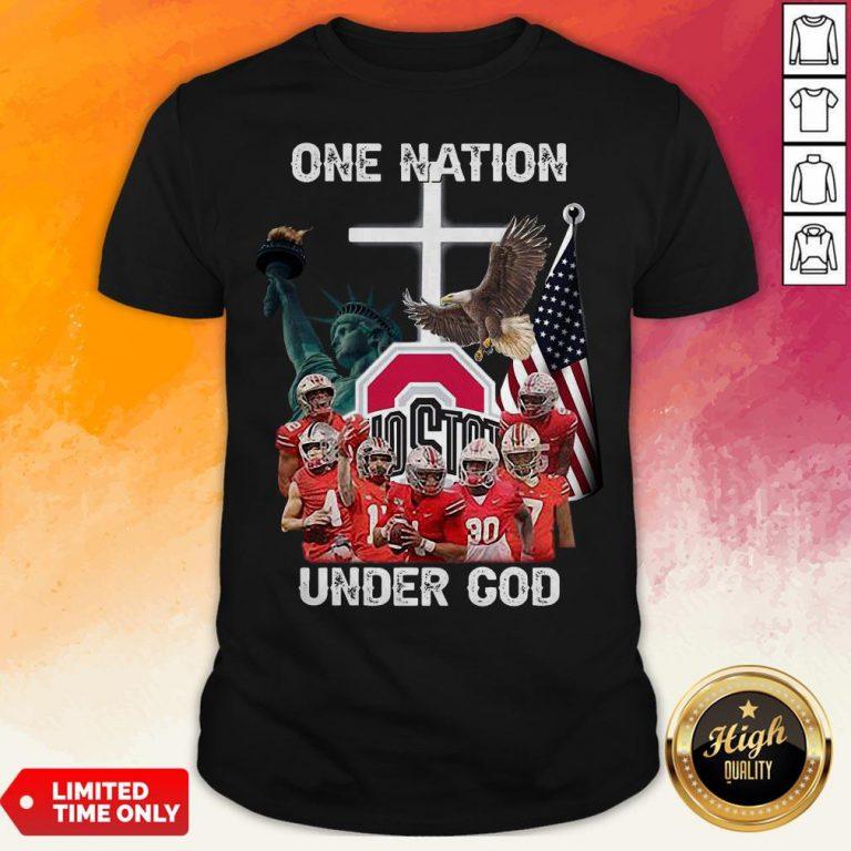 Ohio State Buckeyes One Nation Under God Shirt