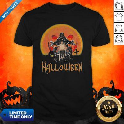 Original Skeleton Biker Halloween Shirt
