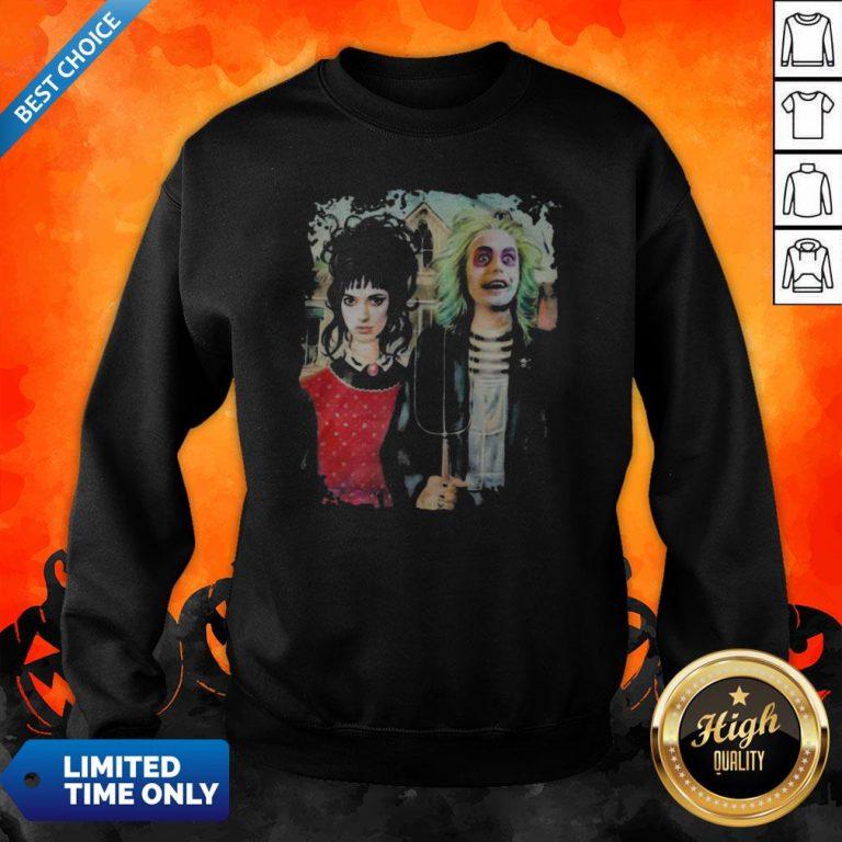 Perfect Halloween Haunted House Poster Sweatshirt