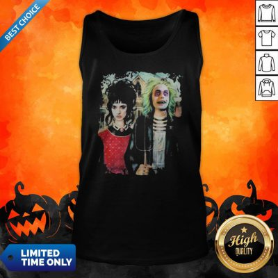 Perfect Halloween Haunted House Poster Tank Top