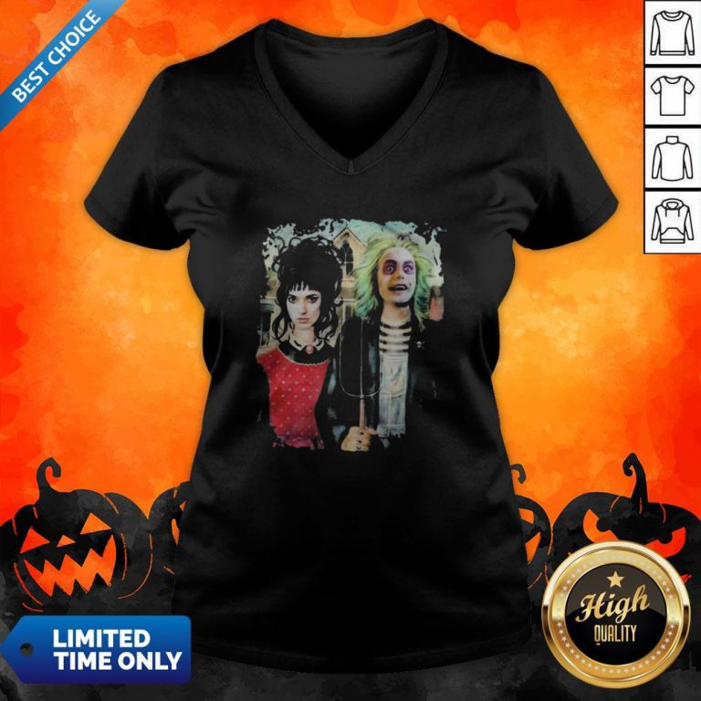 Perfect Halloween Haunted House Poster V-neck