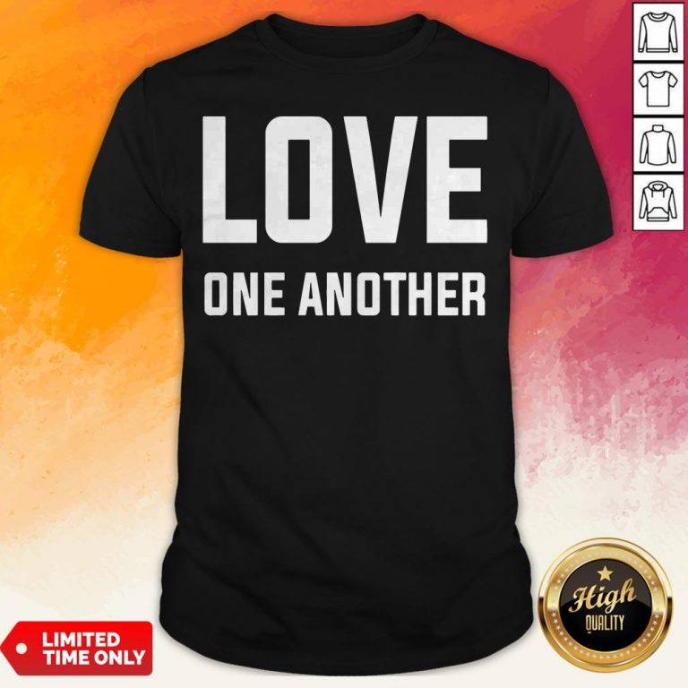 Perfect Love One Another Tee Shirt