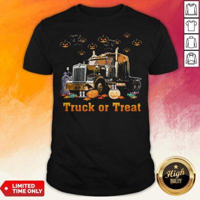 Perfect Truck Of Treat Halloween Shirt