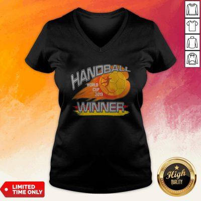 Premium Handball 2019 Germany V-neck