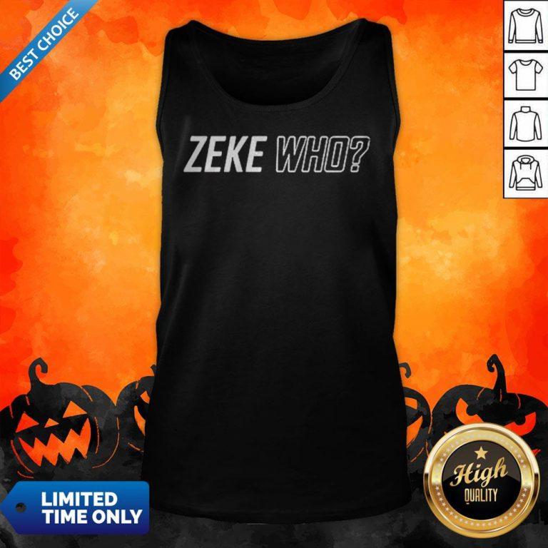 Premium Zeke Who That'S Who Tank Top