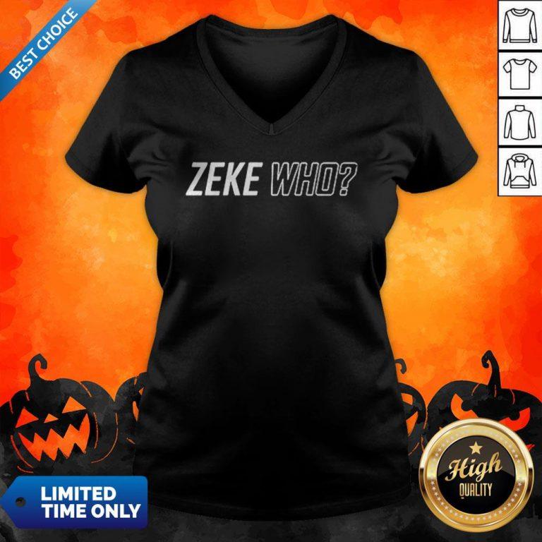 Premium Zeke Who That'S Who V-neck