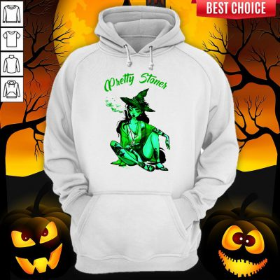 Pretty Stoner Witch Weed Halloween Hoodie