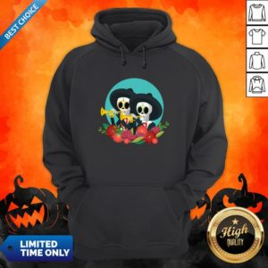 Skeletons Happy Day Of Dead Muertos Hoodie