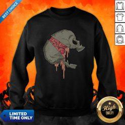 Skull Halloween Day Of The Dead Muertos Sweatshirt