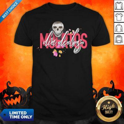 Skull Simple Dia De Los Muertos Day Dead Shirt