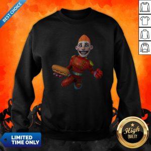 Sugar Skull Boy Hotdog Happy Dia De Muertos Mexican Holiday Sweatshirt