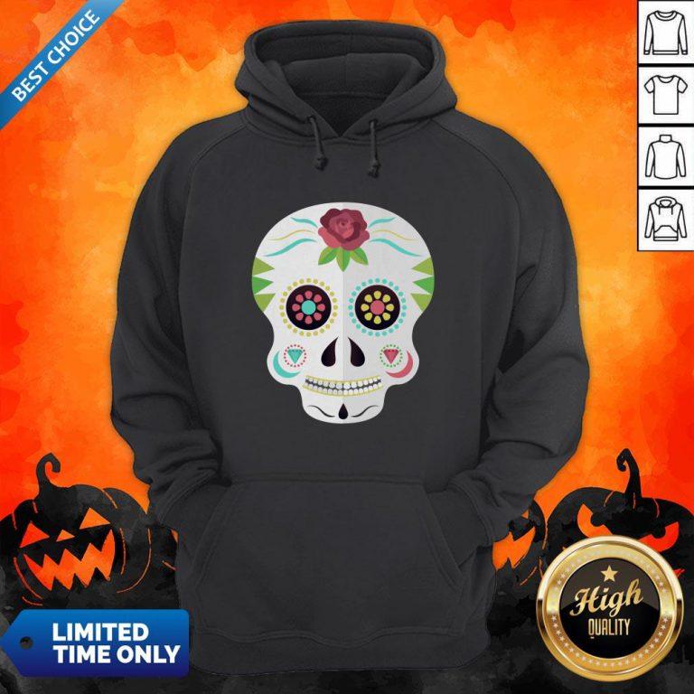 Sugar Skull Day Dead Dia De Los Muertos Hoodie