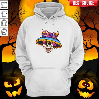 Sugar Skull Day Of The Dead Muertos Hoodie