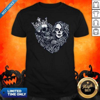 Sugar Skull Girl Dice Chicano Tattoo Vintage ShirtSugar Skull Girl Dice Chicano Tattoo Vintage Shirt