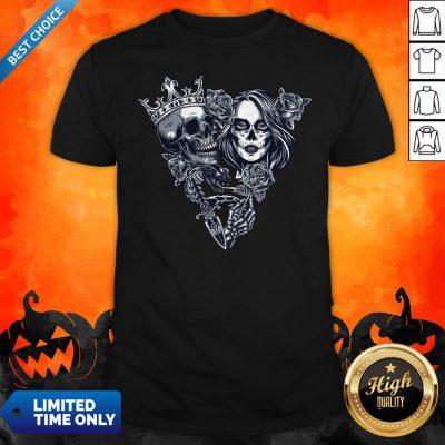 Sugar Skull Vintage Chicano Tattoo Shirt