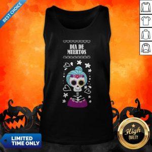 Sugar Skull Women Day Of The Dead Dia De Muertos Tank Top