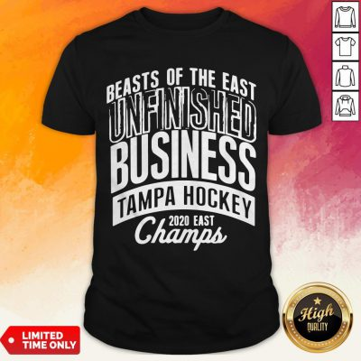Tampa Unfinished Business East Champs Shirt