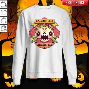 The Mexico Sugar Skull Dia De Muertos Day Dead Sweatshirt