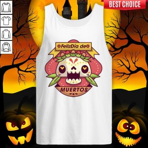 The Mexico Sugar Skull Dia De Muertos Day Dead Tank Top