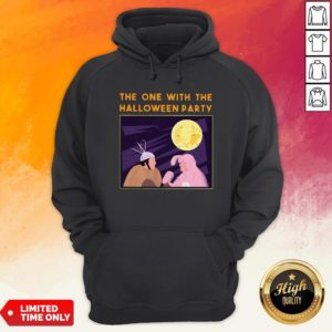 The One With Me Halloween Party Hoodie