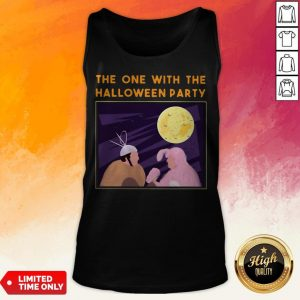 The One With Me Halloween Party Tank Top