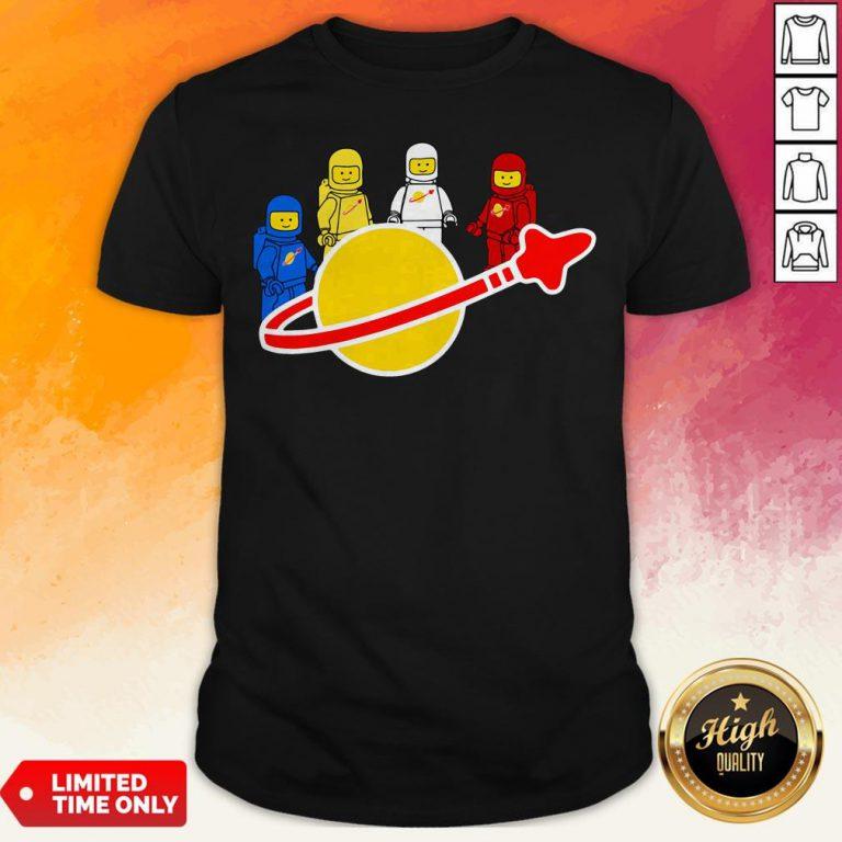 Top Lego Nasa Astronaut T-shirt
