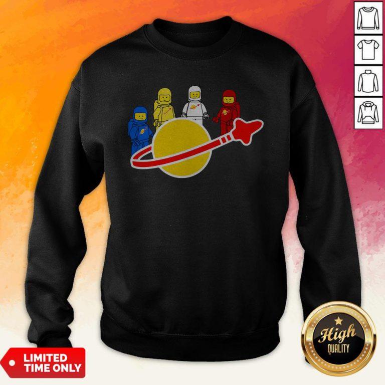 Top Lego Nasa Astronaut Sweatshirt