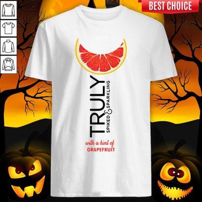Truly Hard Seltzer Grapefruit Halloween T-Shirt