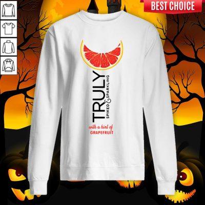 Truly Hard Seltzer Grapefruit Halloween Sweatshirt