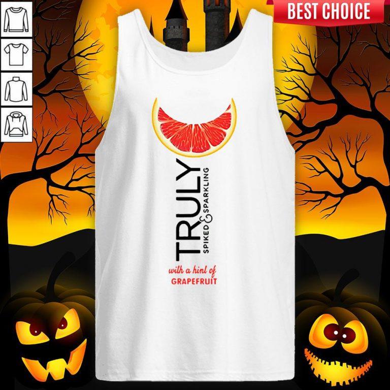 Truly Hard Seltzer Grapefruit Halloween Tank Top