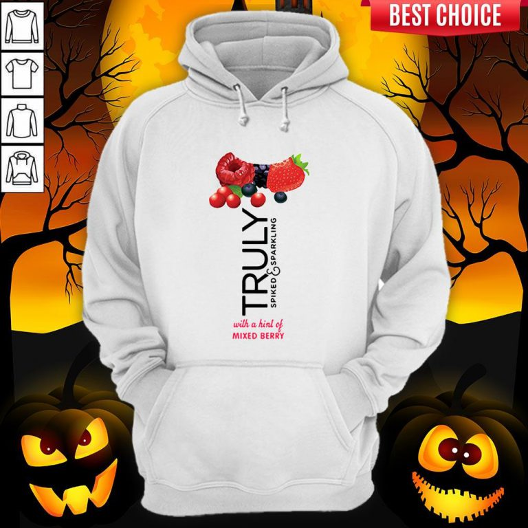 Truly Hard Seltzer Mixed Berry Halloween Costume Hoodie