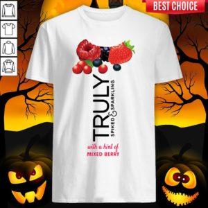 Truly Hard Seltzer Mixed Berry Halloween Costume T-Shirt