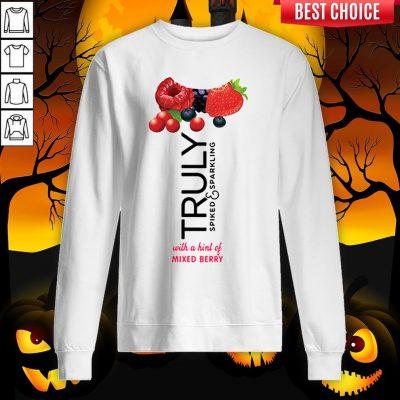 Truly Hard Seltzer Mixed Berry Halloween Costume Sweatshirt