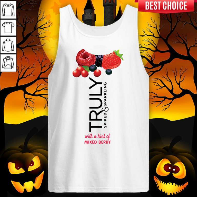 Truly Hard Seltzer Mixed Berry Halloween Costume Tank Top