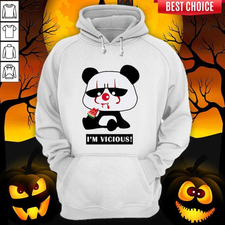 Vicious Baby Panda The Cutest Halloween Hoodie