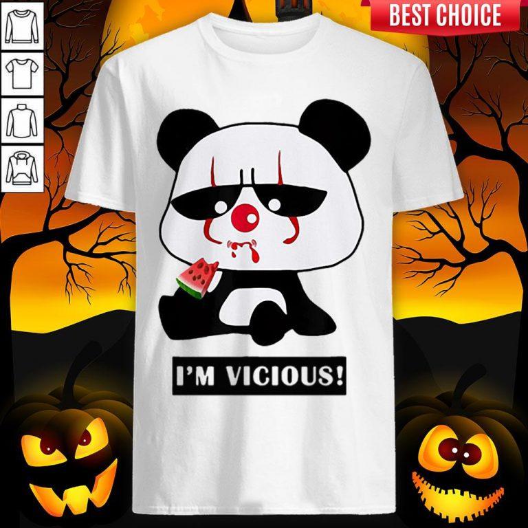Vicious Baby Panda The Cutest Halloween Shirt