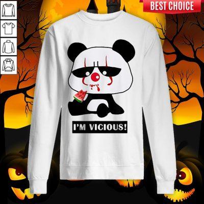 Vicious Baby Panda The Cutest Halloween Sweatshirt