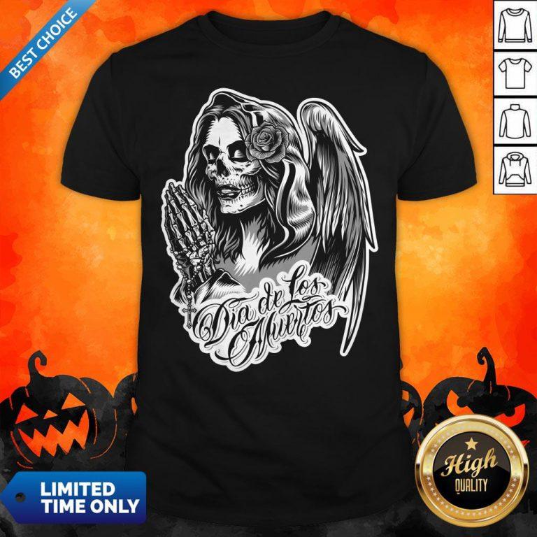 Vintage Day Of The Dead Dia De Los Muertos Shirt