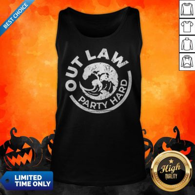White Claw Halloween Party Hard Tank Top