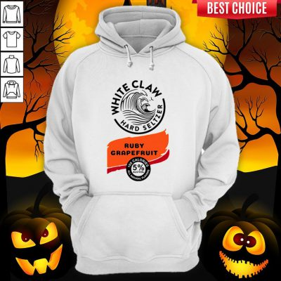 White Claw Hard Seltzer Ruby Grapefruit Halloween Costume Hoodie