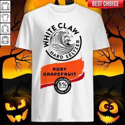 White Claw Hard Seltzer Ruby Grapefruit Halloween Costume Shirt