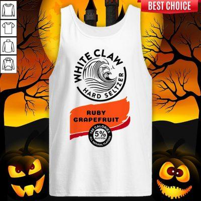 White Claw Hard Seltzer Ruby Grapefruit Halloween Costume Tank Top