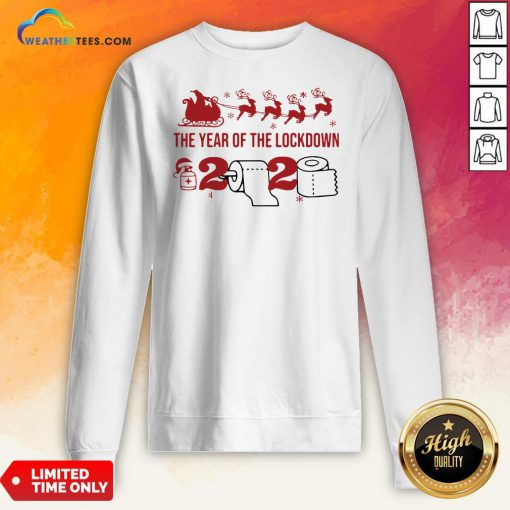 2020 Toilet Paper The Year Of The Lockdown Christmas Sweatshirt